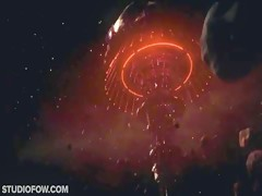 Red lips on Doggy Pricks