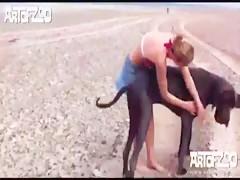 Pig and girl - Sexo con Animales@AV4.us - Hot Videos