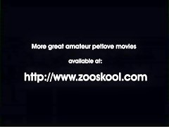 Knotty doggie recopilation - Sexo con Animales - Portalzoo