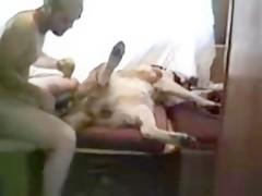 Clip Man fuck Dog  - Sexo con Animales - Portalzoo