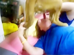 Doggy BJ